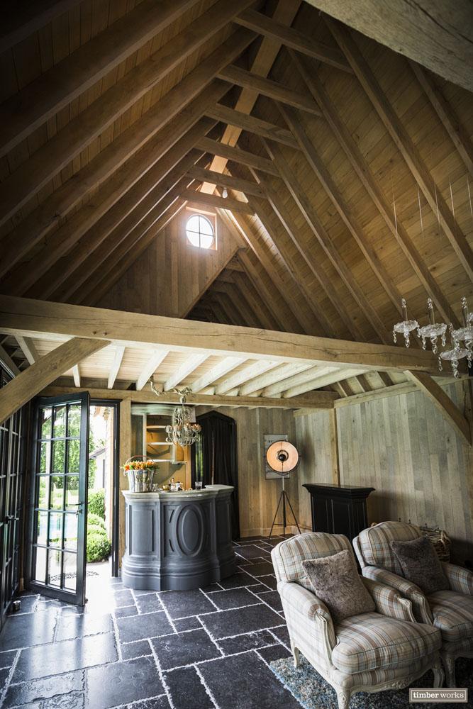 Timber works | timberworks.be | Houten bijgebouw | Eik