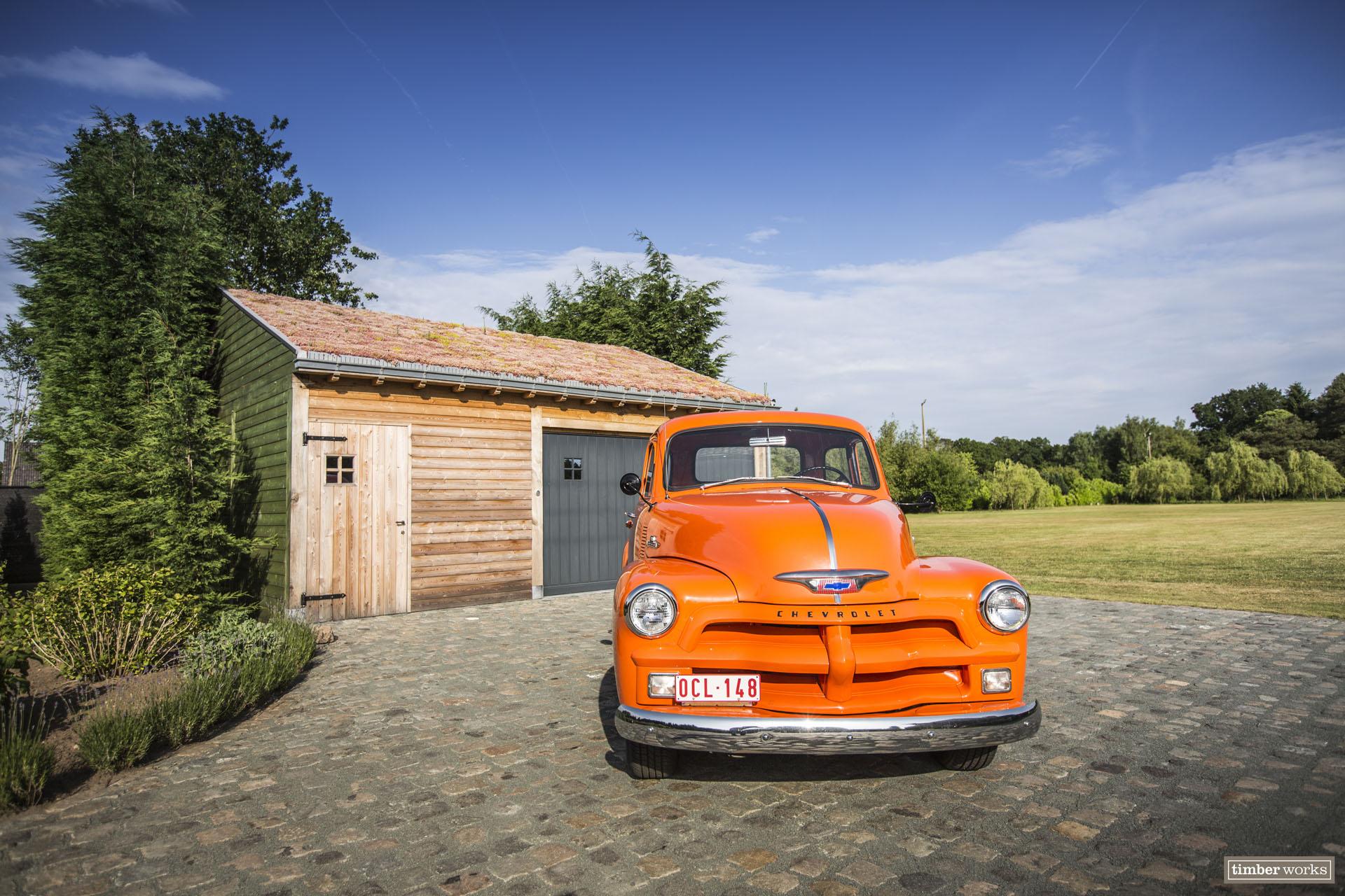 timber works | houten garage