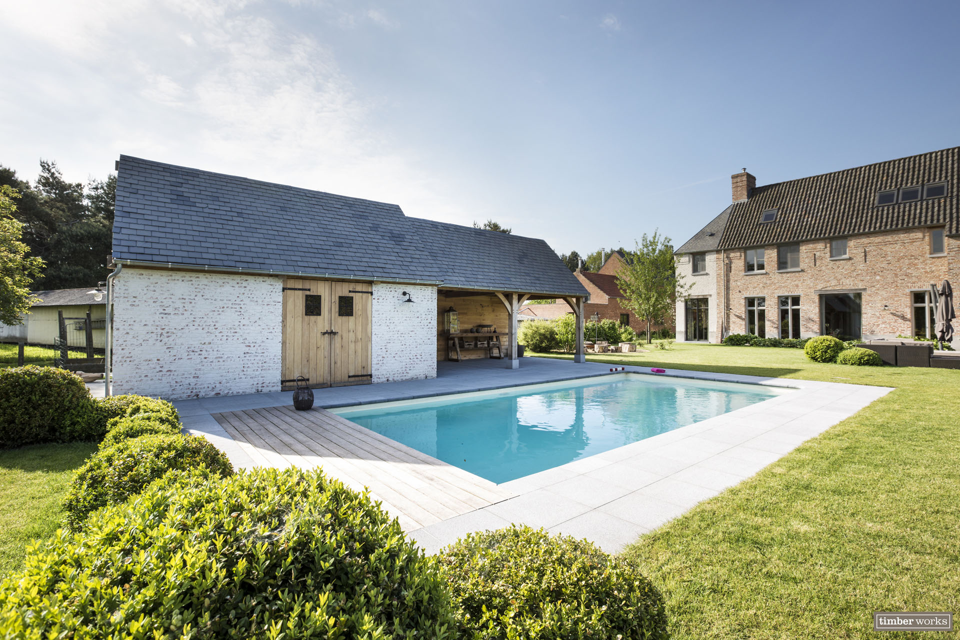 Timber Works | Poolhouse