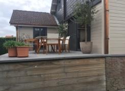 Het gevoel om te leven in een houten huis