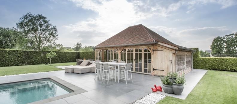 6 tips voor een eiken houten poolhouse